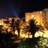 Makarska, вечерний вид с балкона