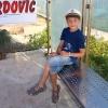 Остров Ciovo, Slatine, автобусная остановка Rovci