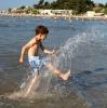 На пляже Сплита