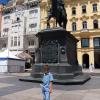 Загреб, площадь Бана Елачича