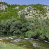 На берегу реки Cetina