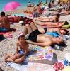 Makarska, пляж