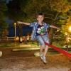 Makarska, на детской площадке
