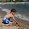Omis, пляж