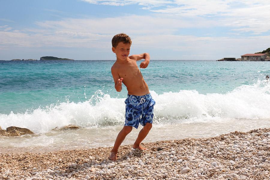 Kupari, пляж