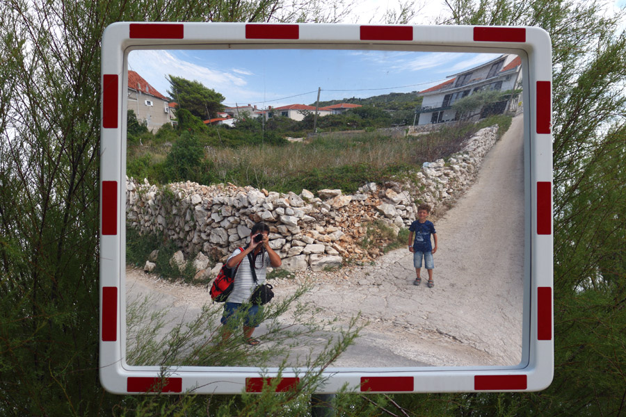 Остров Ciovo, Slatine, зеркало