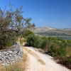 Остров Ciovo, дорога в Okrug Gornji