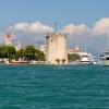 Вид с моря на Trogir