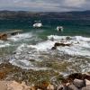 Остров Ciovo, Slatine, шторм