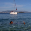 Остров Ciovo, Slatine, море
