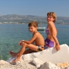 Остров Ciovo, Slatine, пляж