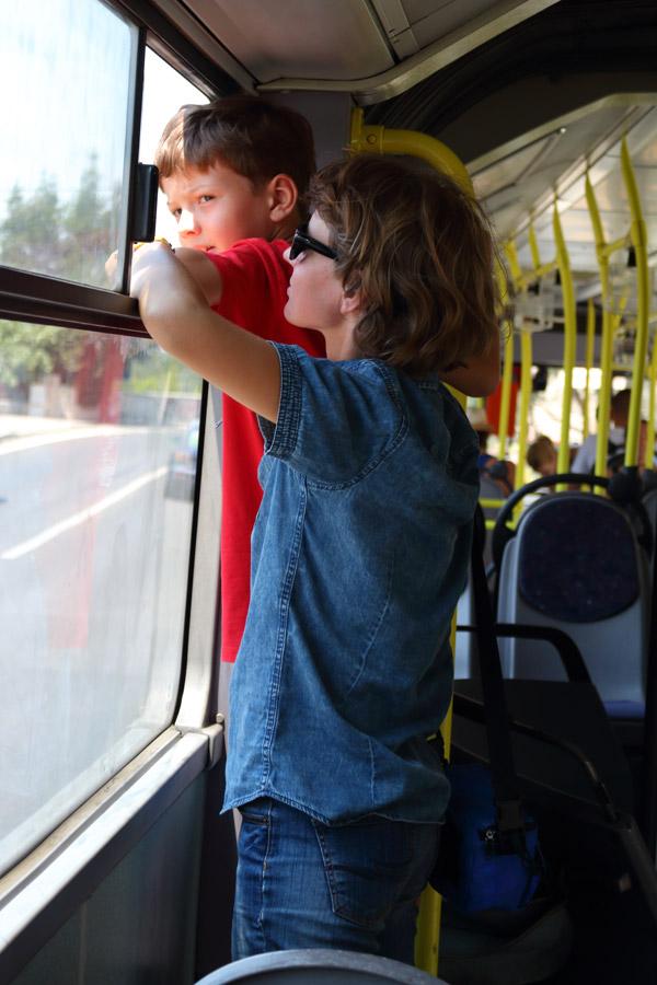 В автобусе Омиш - Сплит