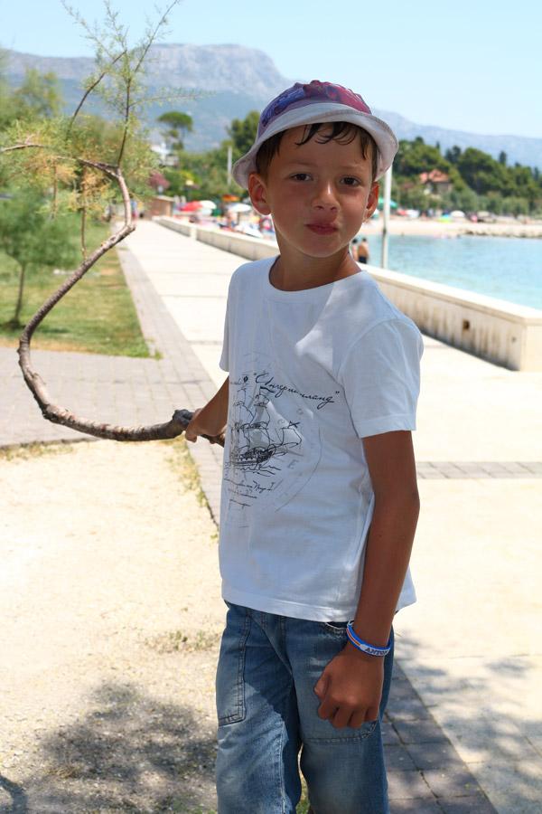 Kastel Stari, набережная