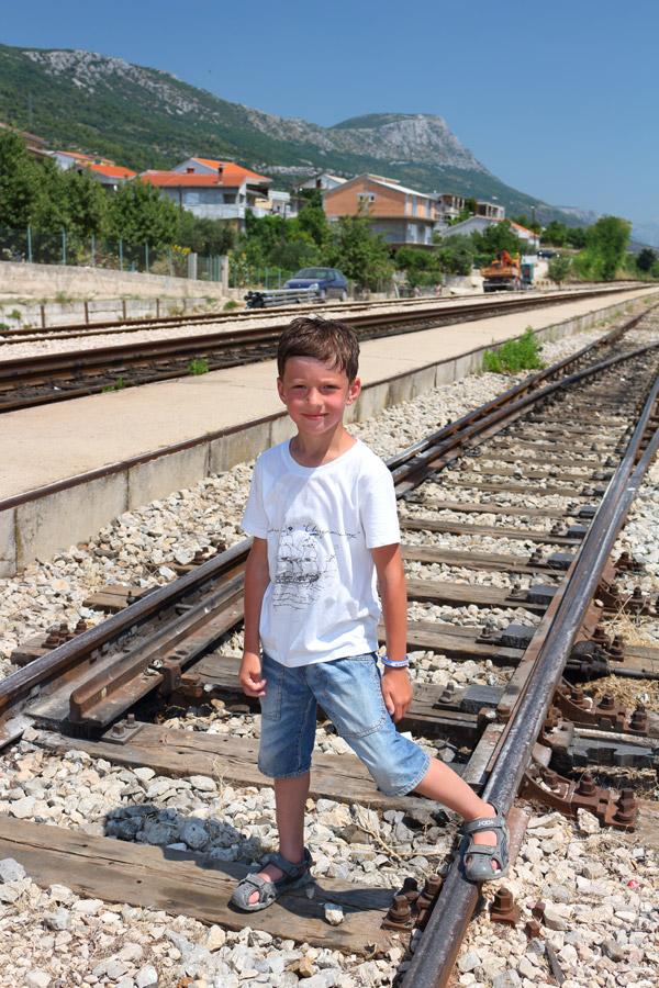 Kastel Stari, железнодорожная станция