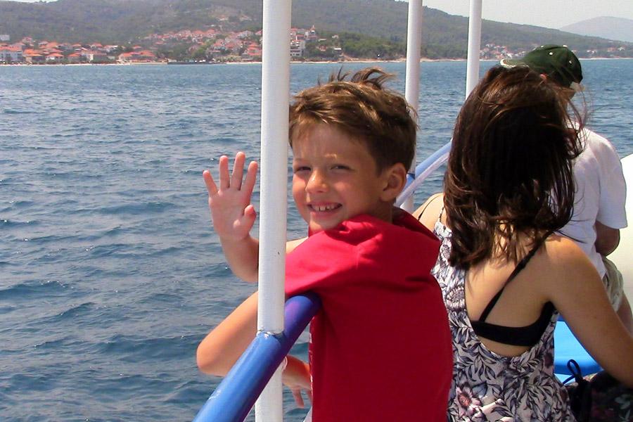 Плывем на Чиово
