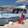 Сплит, на фоне корабля до острова Чиово
