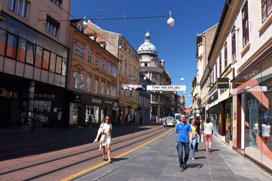 Загреб, центр