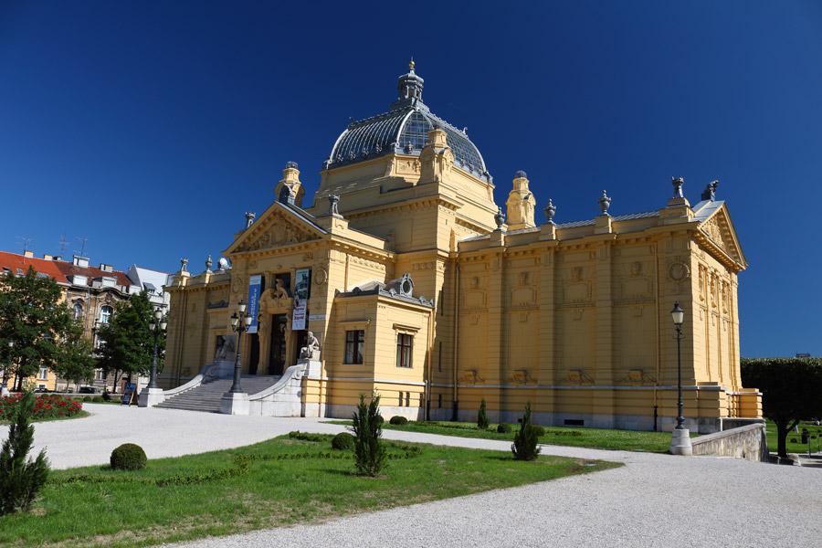 Загреб, Хорватский национальный театр