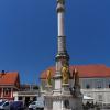 Загреб, фонтан у собора Вознесения Марии