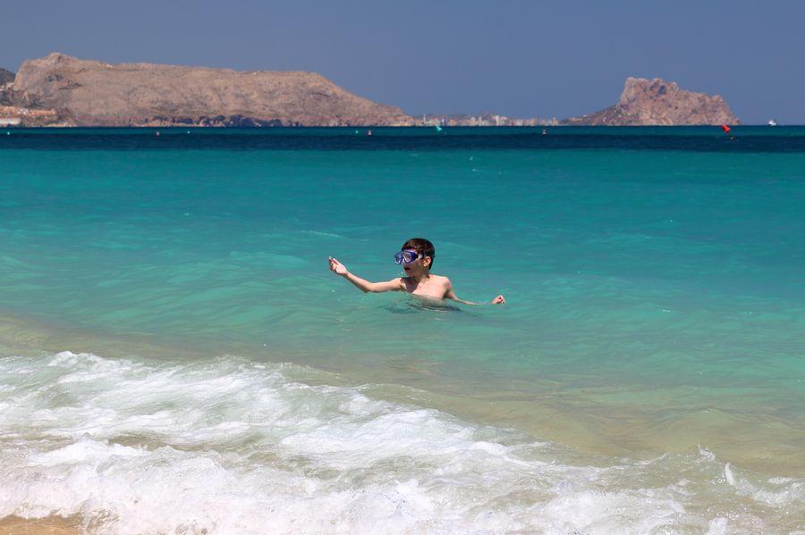 Albir, пляж