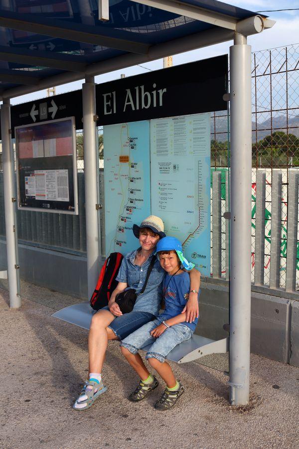 L\'Alfàs del Pi, станция трама El Albir