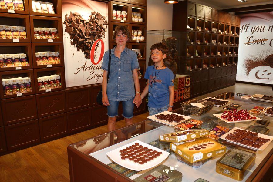 La Vila Joiosa, музей шоколада фабрики Valor