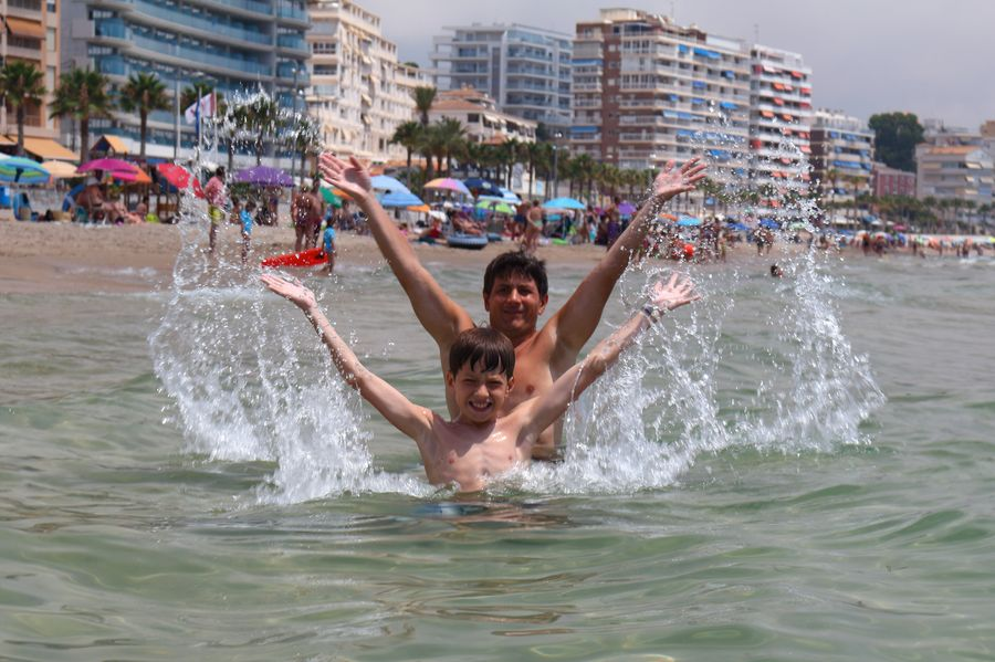 La Vila Joiosa, пляж